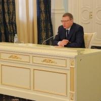 В Омске Бурков ответил на вопросы журналистов в стиле Путина