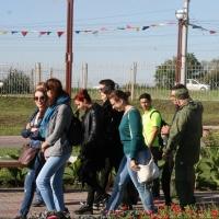 Иностранные студенты побывали на смотровой вышке в «Птичьей гавани»