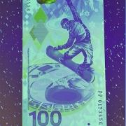 В Омске продают олимпийские банкноты по 300 рублей