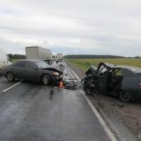 В аварии на трассе Омск-Тюмень пострадали пять человек, включая годовалого ребенка