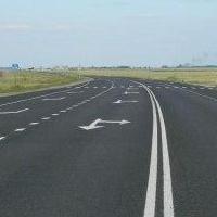 Нанесение разметки на омские дороги обойдется бюджету в 9,5 миллионов рублей