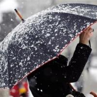 В начале рабочей недели в Омской области будет идти мокрый снег