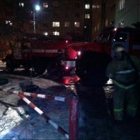 От пожара в Омске пострадали три квартиры