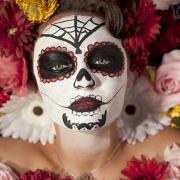 Празднование Дня смерти в Мексике