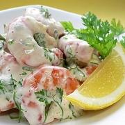 Рецепты салатов и закусок