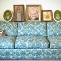 Как освежить диван?