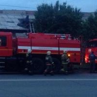 В Омске из горящей сауны эвакуировалось 35 человек