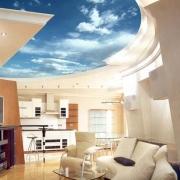 Красочные потолки