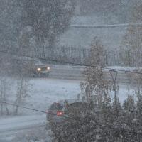 Синоптики предупреждают омичей о сильной метели и заносах на дорогах