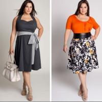 Выбор женской одежды больших размеров