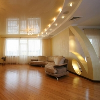 Из какого материала, чаще всего делаются натяжные потолки