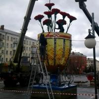 В Омске из пасхального яйца выросли цветы