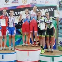 Омские велогонщики завоевали на чемпионате России 7 медалей