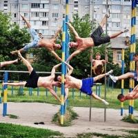 В Омске открылась площадка для воркаута