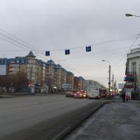 В Омске за 2,5 млн рублей расширят дорогу по улице 10 лет Октября