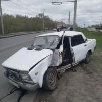 Пассажиры «семерки» пострадали в ДТП с омской маршруткой