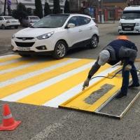 Дорожную разметку на улицах Омска будут обновлять до 20 июня