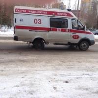Двухлетний омич госпитализирован после ДТП в Октябрьском  округе