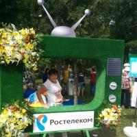 «Ростелеком» организовал фан-зону на крупнейшей цветочной выставке Омска