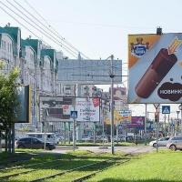 Омская мэрия демонтирует 82 рекламных щита