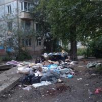 Омичи жалуются на несанкционированную мусорную свалку во дворе