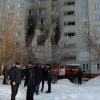 Квартира в Омске, в которой произошел хлопок, была отключена от газа