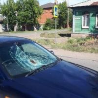 В Омске на «зебре» сбили женщину