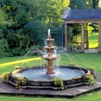 Как выбрать фонтан для садового участка