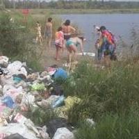 Горой мусора в Парке Победы занялась прокуратура