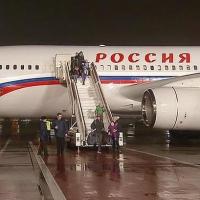 Президентский спецборт был замечен в омском аэропорту