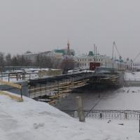 Реконструкция Юбилейного моста завершена наполовину
