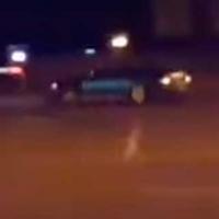 В Омске неизвестные устроили гонки перед зданиями УМВД и ФСБ
