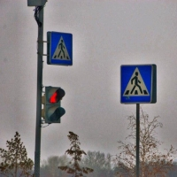 На проспекте Мира в Омске появился новый светофор