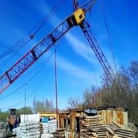 Омская прокуратура занялась делом о падении башенного крана в мкр Старгород