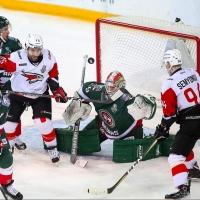 Омский «Авангард» одержал третью победу в серии с «Ак Барсом»