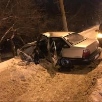 В ДТП с иномарками в Омске пострадали 4 человека