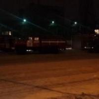 В Советском округе Омска горел буфет в молодежном центре «Химик»