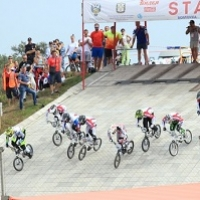 Японец занял первое место на международных соревнованиях по BMX в Омске