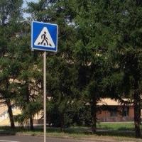 В Омске на «зебре» сбили 6-летнего мальчика
