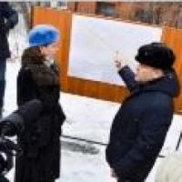 Фадина обошла места возможных подтоплений Омска