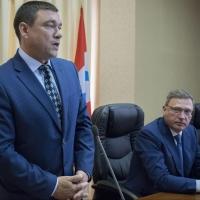Посаженникова представили коллективу как нового министра промышленности Омской области