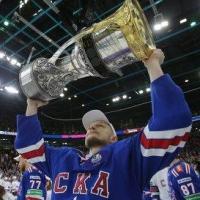 Защитник СКА решил подарить Кубок Гагарина Омской области