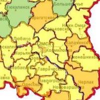 В шести районах Омской области - высокая степень горения лесов