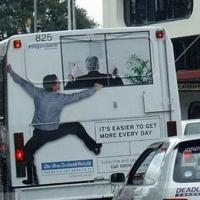 Депутаты не захотели освободить омские автобусы от рекламы