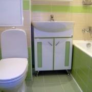 Объединяем ванную комнату и туалет