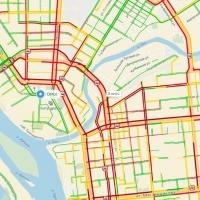 Многочисленные аварии привели к 10-балльным пробкам в центре Омска