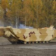 Омские конструкторы разрабатывают гражданскую версию танка-амфибии