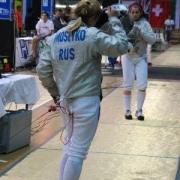 Юная омичка взяла серебро на Кубке Европы по фехтованию
