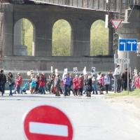 «Бессмертный полк» в Омске пойдет другим маршрутом из-за ремонта Юбилейного моста