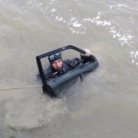 Житель Омской области припарковал угнанное авто в Иртыше